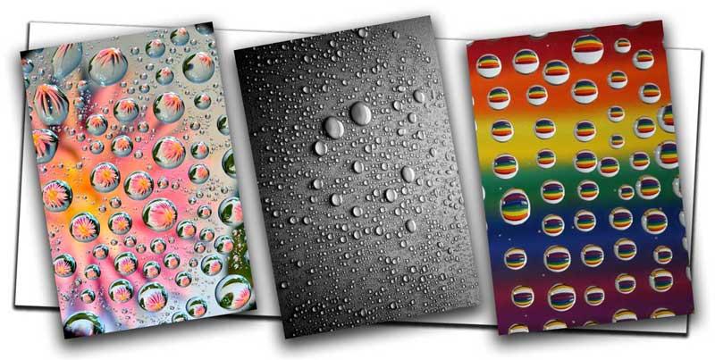 Photograph Water Droplets on Glass 10 1 - آموزش عکاسی از قطرات آب