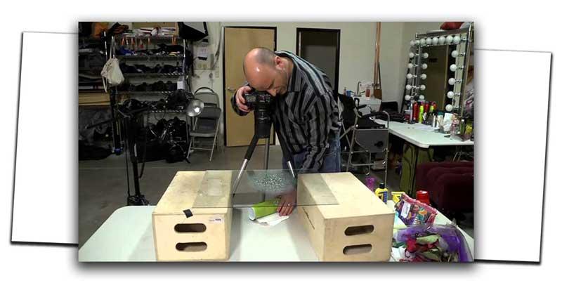 Photograph Water Droplets on Glass 6 1 - آموزش عکاسی از قطرات آب
