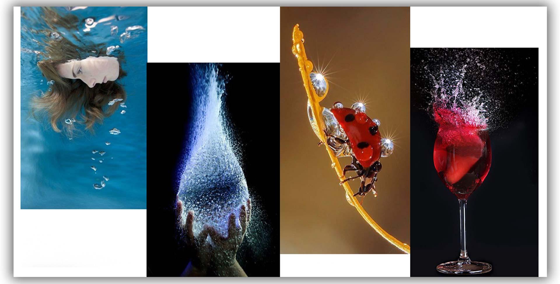 Water photographys 000s - 9 ایده ی عکاسی از آب برای نمایش پاشیدن قطرات آب