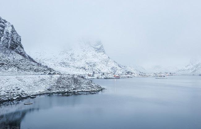 winter landscape photography - 5 ترفند برای عکاسی از مناظر زمستانی