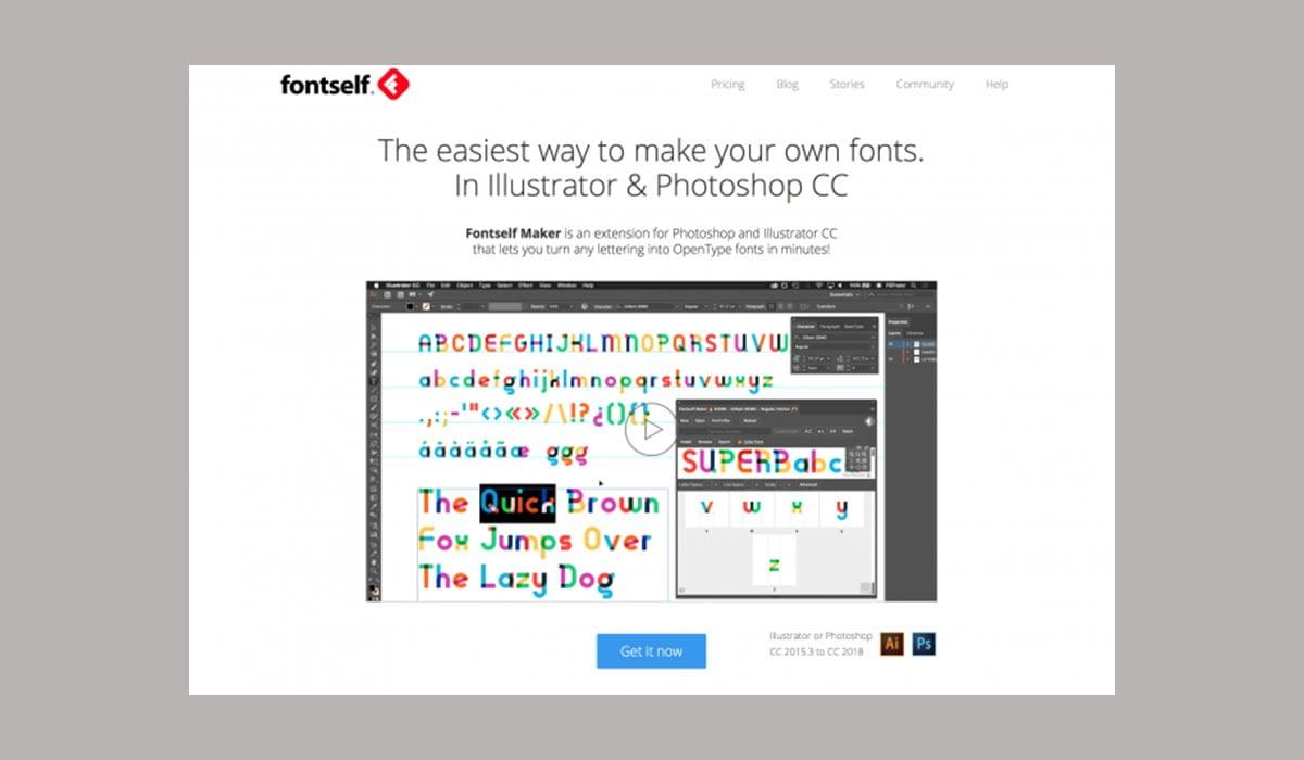 Fontself Maker - 38 تا از برترین پلاگین های فتوشاپ