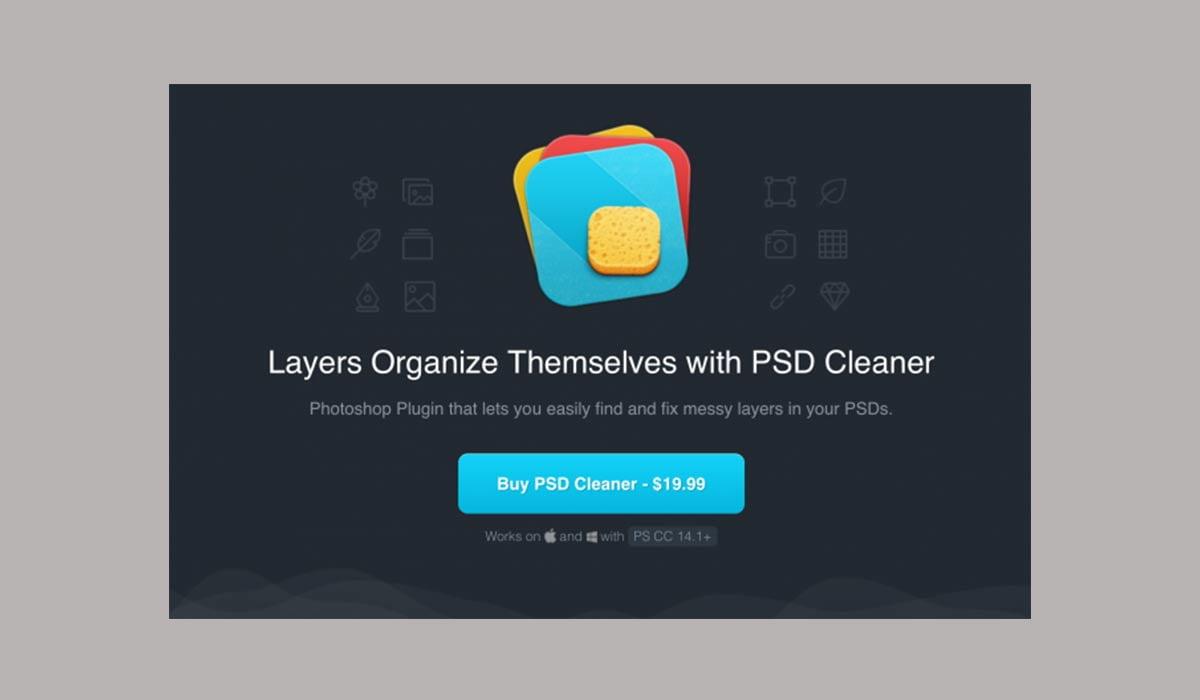 PSD Cleaner - 38 تا از برترین پلاگین های فتوشاپ