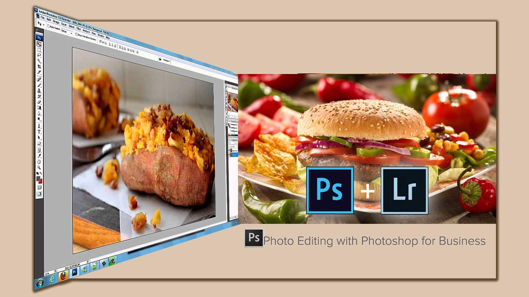 Photo editing  Photoshop 11 - 8 تا از مزایای اصلی ویرایش عکس با فتوشاپ برای کسب و کارتان