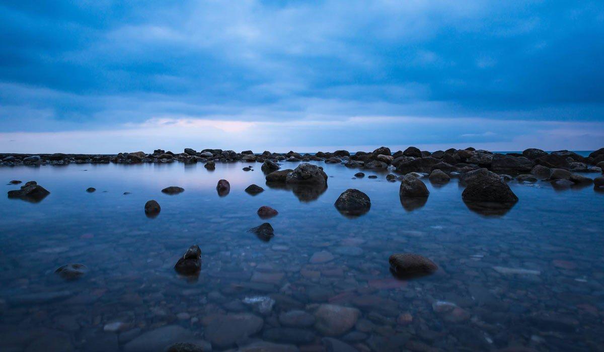blue hour photography - ساعت طلایی در عکاسی چیست ؟