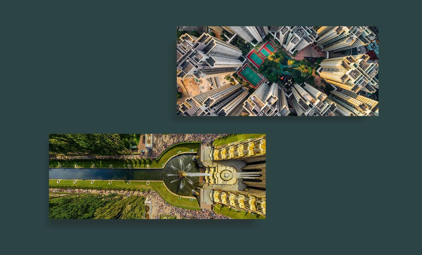 Aerial Photography - 24 مورد از انواع عکاسی که هرکدام از آنها جهان را زیباتر کرده است