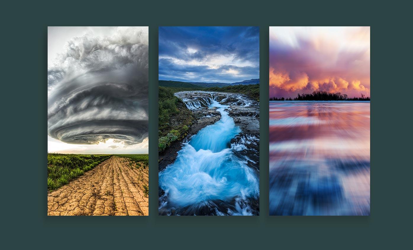 weather photography - 24 مورد از انواع عکاسی که هرکدام از آنها جهان را زیباتر کرده است