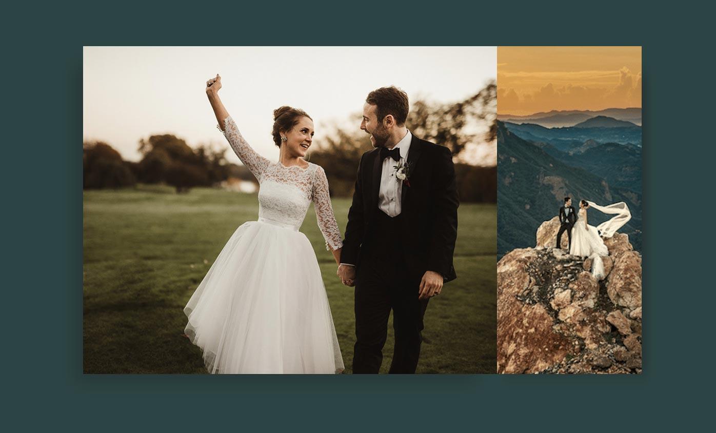 wedding photography - 24 مورد از انواع عکاسی که هرکدام از آنها جهان را زیباتر کرده است