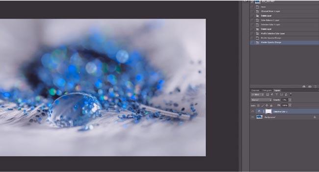 How to Create  Fantasy Macro Drop Photograph 5 - عکاسی ماکرو از قطرات آب