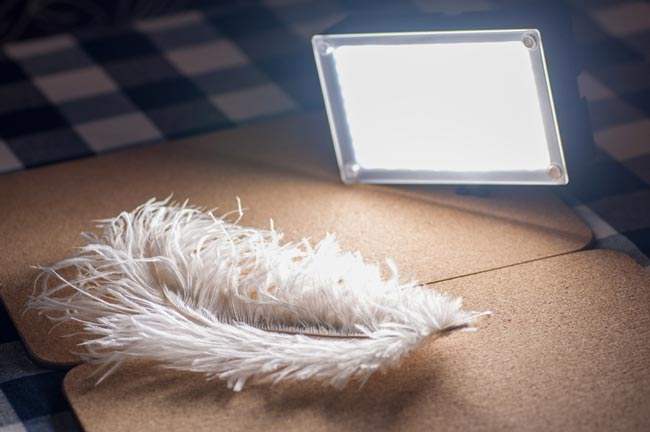 feather with light photography - عکاسی ماکرو از قطرات آب