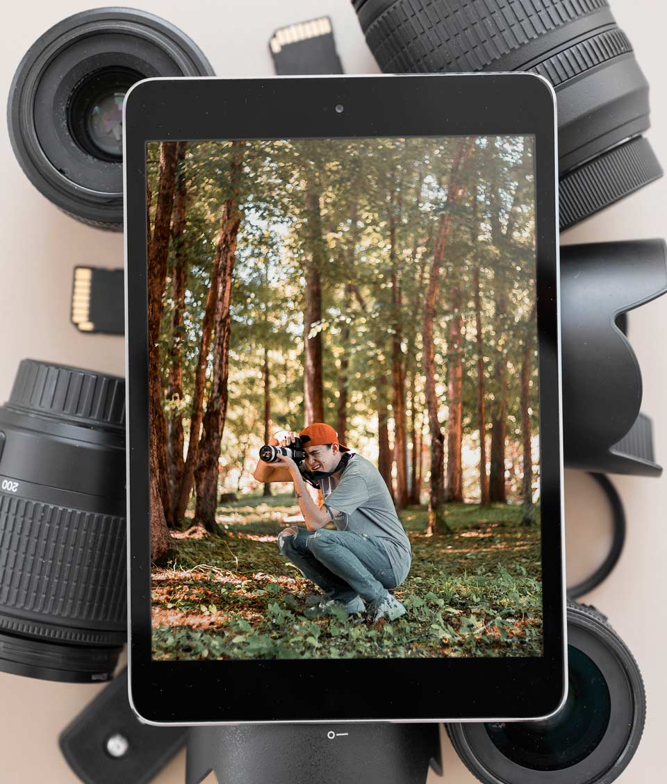 learn photography 3 - 6 فایده عکاسی و 6 دلیل رفتن به کلاس عکاسی