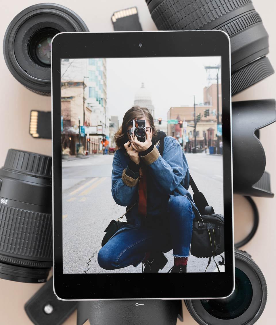 learn photography 4 - 6 فایده عکاسی و 6 دلیل رفتن به کلاس عکاسی