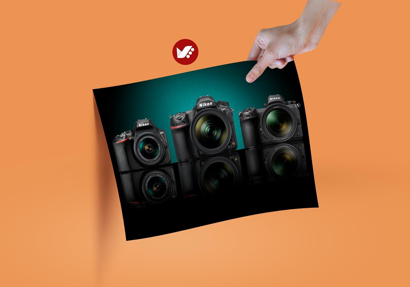 nikon camera - شاتر پرده جلو الکترونیکی