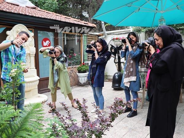 pouyaandish photography class - شاتر پرده جلو الکترونیکی